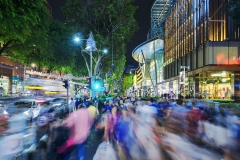 Orchard Road (Human and Vehicle traffic)