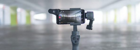 Mounting a lens attachment to the DJI Osmo Mobile 2